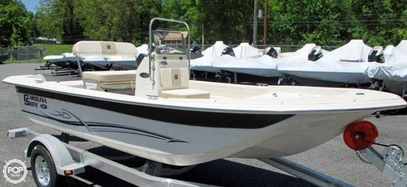 2014 used carolina skiff 16 jvx cc skiff fishing boat for for Used fishing boats for sale in florida