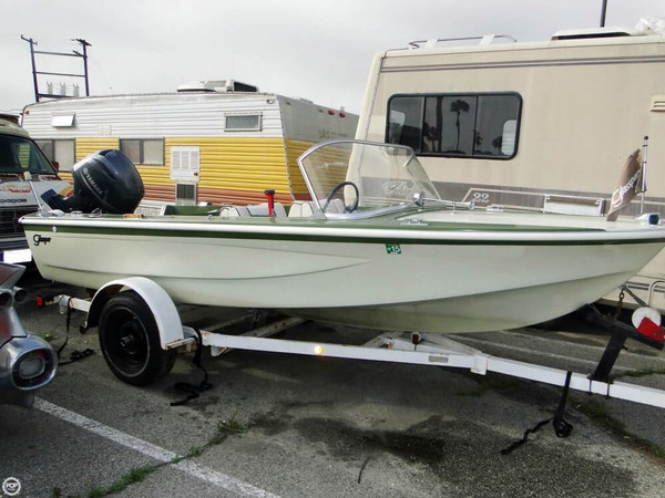 Used Glasspar Avalon 16 Runabout Boat For Sale