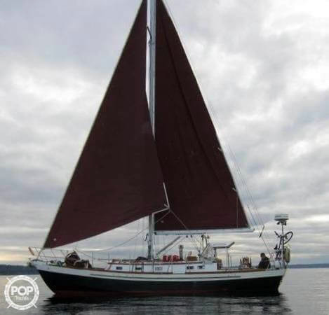Used Bruce Roberts 37 Cutter Sailboat For Sale