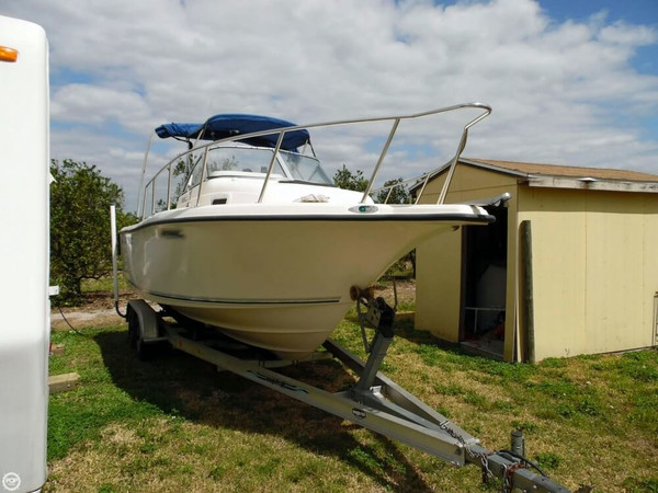 Used Key West 225WA Walkaround Fishing Boat For Sale