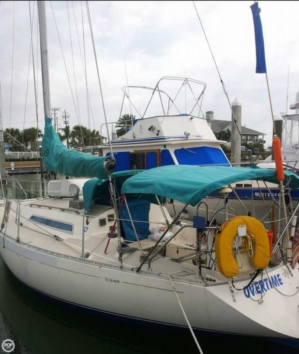 Used Sigma 33 Sloop Sailboat For Sale