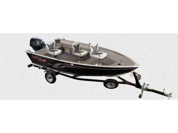 New Alumacraft 145 TL Sports Fishing Boat For Sale