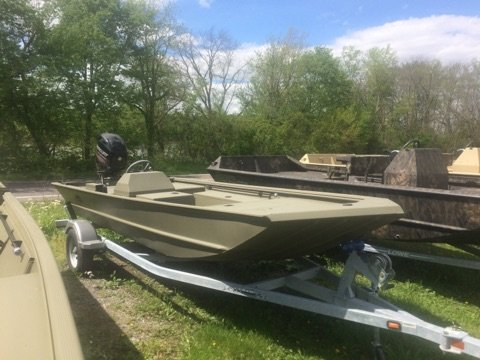 New Lowe Roughneck 1650SC Sports Fishing Boat For Sale