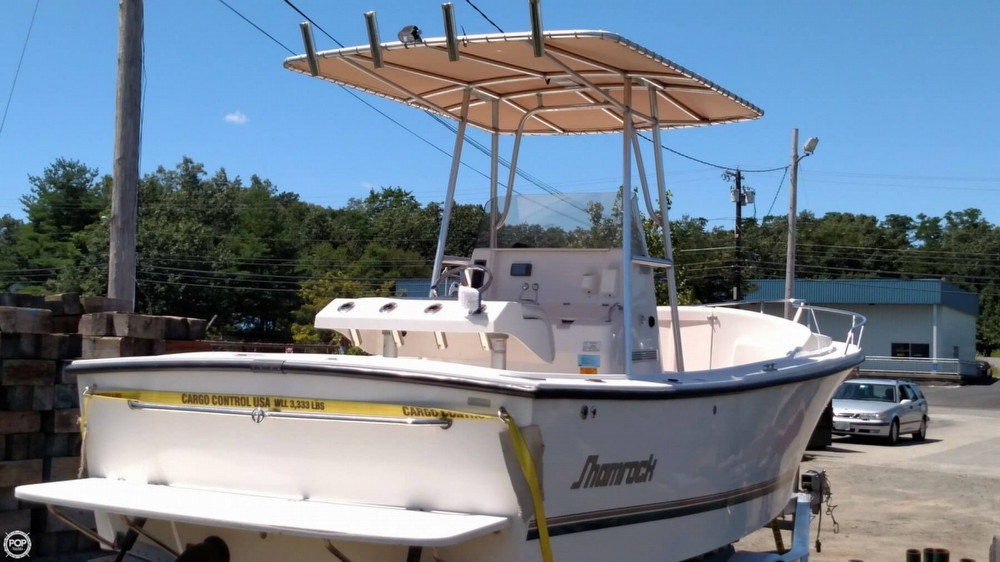 2006 used shamrock 220 stalker cuddy center console for Center console fishing boats for sale