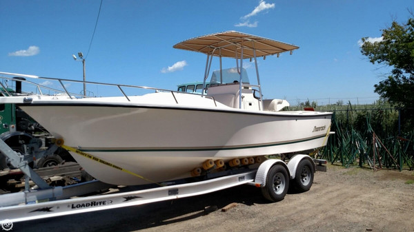 Used Shamrock 220 Stalker Cuddy Center Console Fishing Boat For Sale