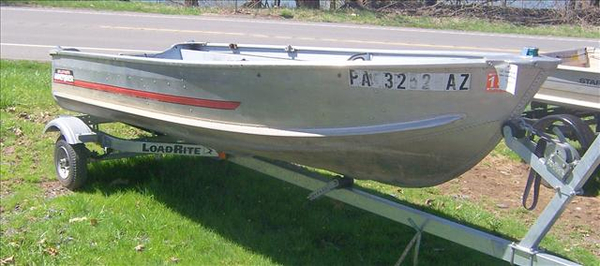 Used Sears GameFisher 12' Jon Boat For Sale