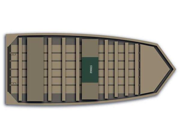 New Alumacraft MV 1448 Jon Boat For Sale