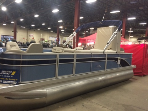 New Bennington 22 SFX - Dual Stern Gates - Fishing Model Pontoon Boat For Sale