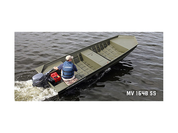 New Alumacraft MV 1648 (15 & 20) Sports Fishing Boat For Sale