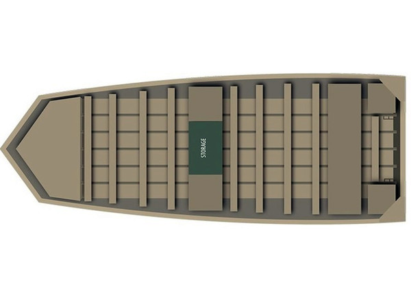 New Alumacraft 1036 Jon Boat For Sale