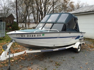 Used Sea Nymph 175 GLS Deck Boat For Sale