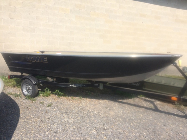 New Lowe Utility V1467WT Sports Fishing Boat For Sale