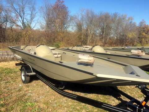 New Alumacraft 1860 Tunnel SC Jon Boat For Sale