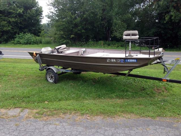 Used Alumacraft MV1448 Jon Boat For Sale