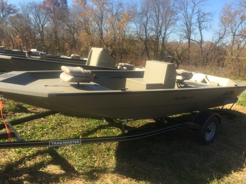 New Alumacraft 1756 Tunnel CC Jon Boat For Sale