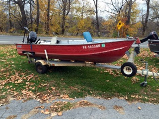 Used Blue Fin Ind/Spectrum 14 v Sports Fishing Boat For Sale