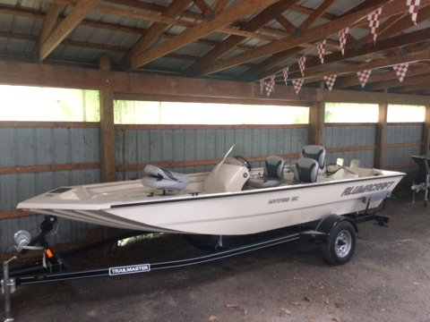 New Alumacraft VB 1756AW SC Tunnel Jet Sports Fishing Boat For Sale