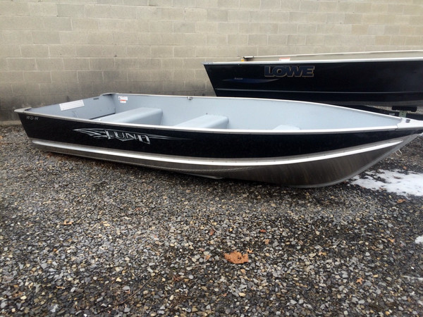 New Lund Aluminum WD 14 Sports Fishing Boat For Sale