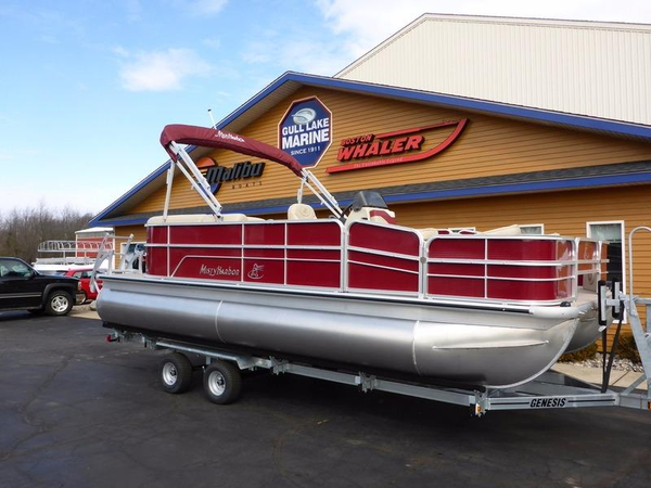 New Misty Harbor Boats Adventure A-2085CC Pontoon Boat For Sale