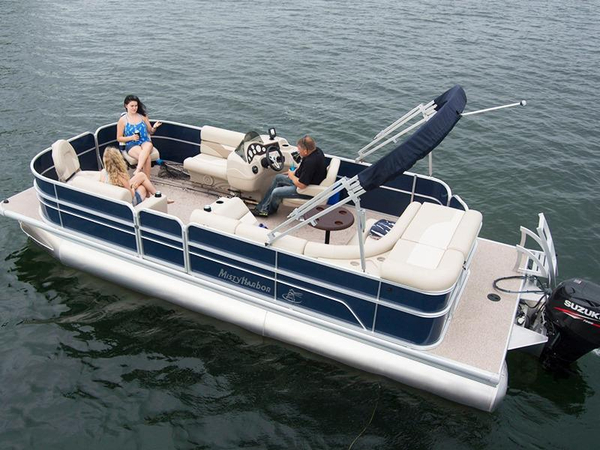 New Misty Harbor Boats Adventure FF 245 Pontoon Boat For Sale