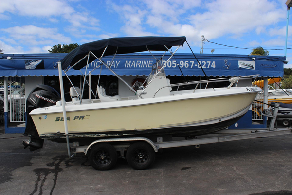 Used Sea Pro 196 Center Console Center Console Fishing Boat For Sale