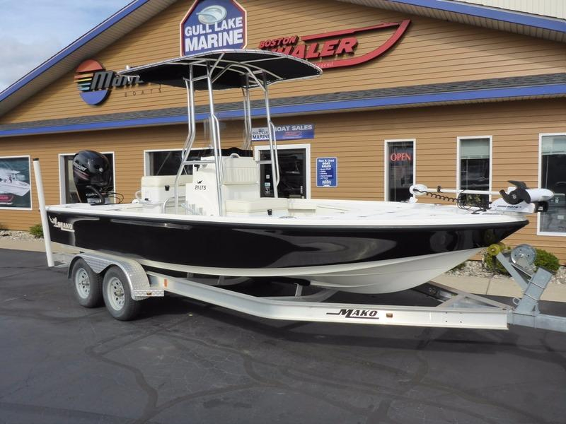 2014 used mako 21 lts center console fishing boat for sale for Used fishing boats for sale in michigan