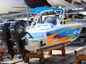 Used Concept 36 Center Console Fishing Boat For Sale