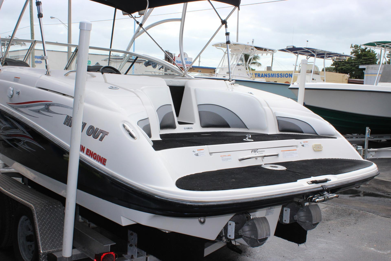 2006 used yamaha ar230 ho jet boat for sale 17 900 for Yamaha jet boat for sale florida