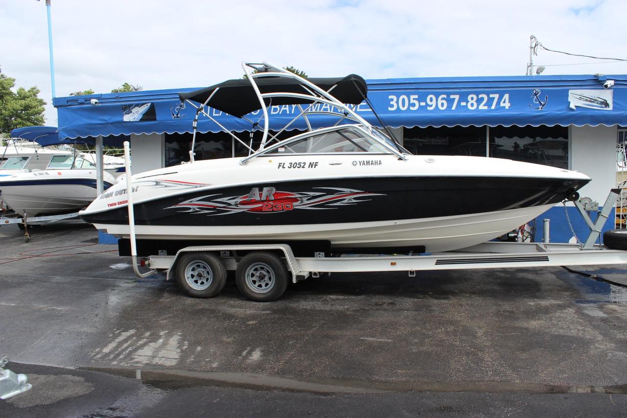 2006 used yamaha ar230 ho jet boat for sale 17 900 for Yamaha jet boat reliability