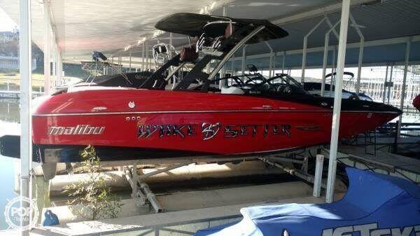 Used Malibu Wake Setter MXZ Ski and Wakeboard Boat For Sale