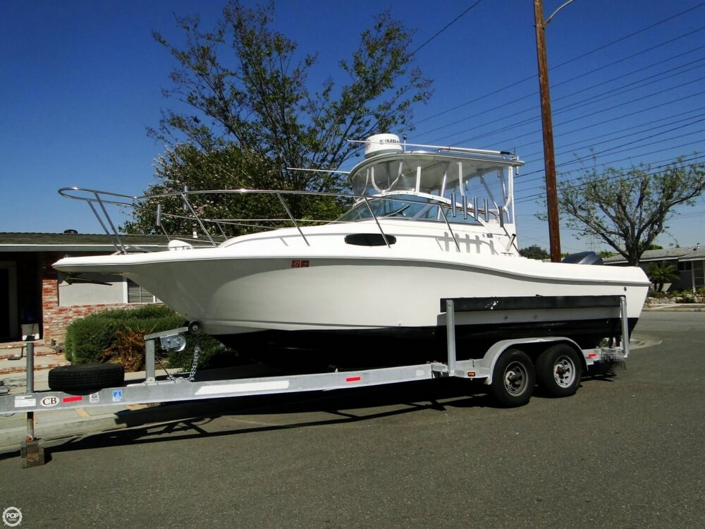 1995 used wellcraft excel 23 fish walkaround fishing boat for Used fishing boats for sale in california