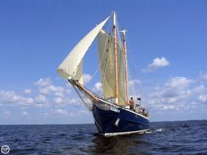 Used Trade Rover Merritt Walter Schooner Sailboat For Sale