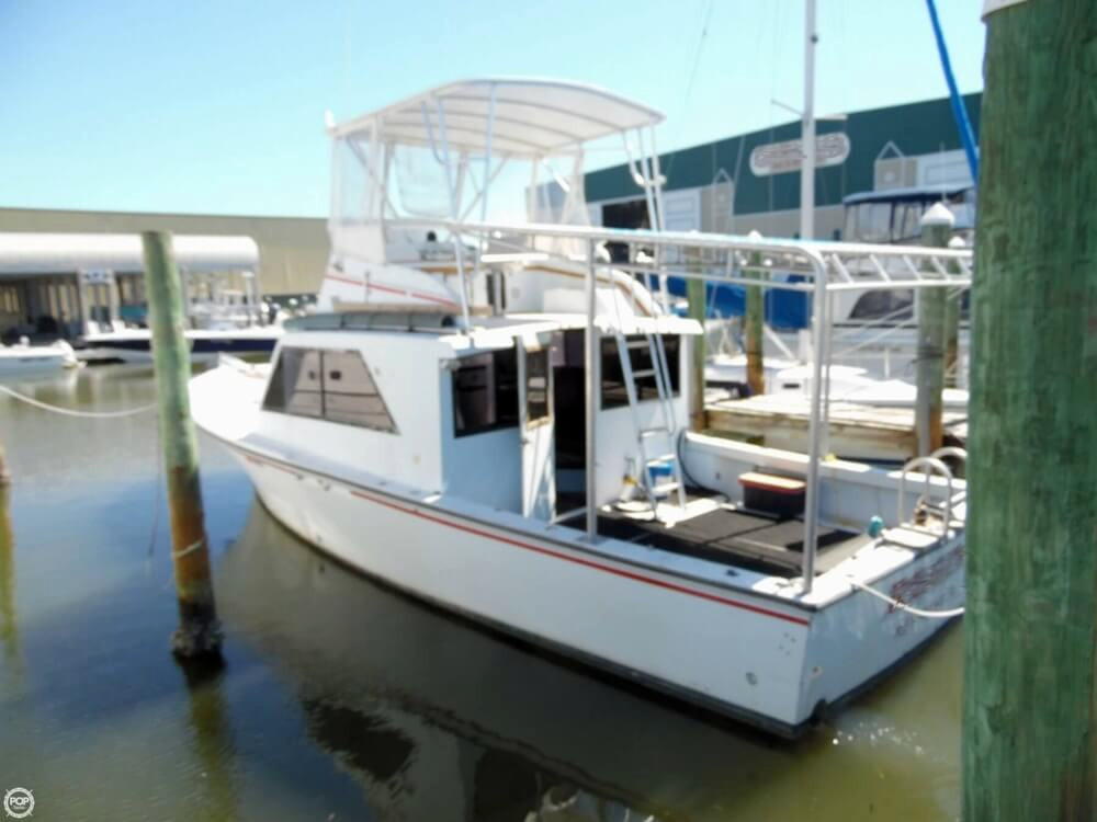 1983 used key west yachts 39 sports fishing boat for sale for Key west fishing boats