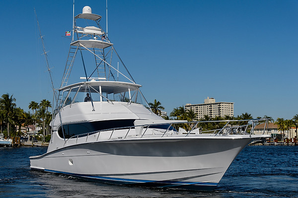 Used Hatteras Flybridge Sportfish Convertible Fishing Boat For Sale