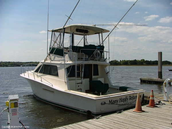 Used Seidelmann 37 Pacemaker Sports Fishing Boat For Sale