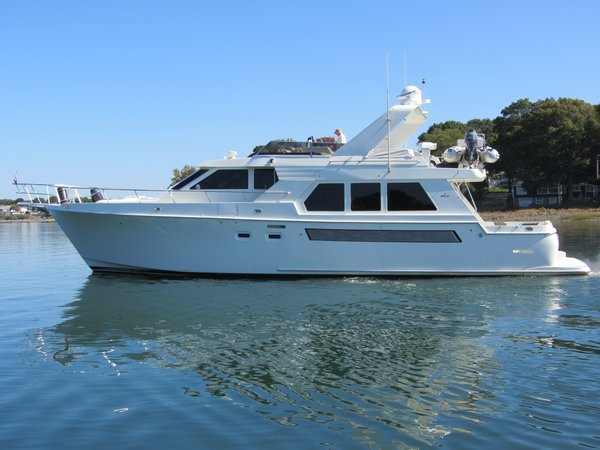 Used Tollycraft Wide Body Pilothouse Boat For Sale