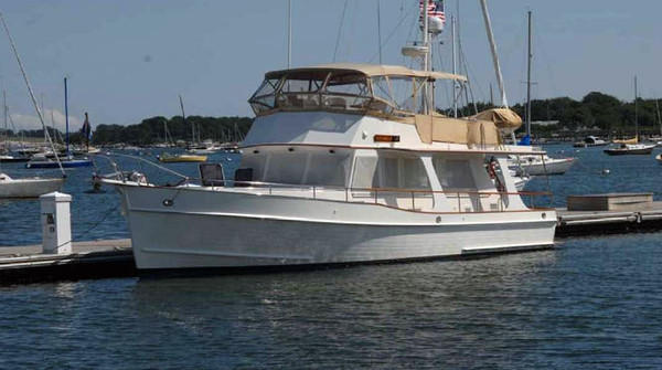 Used Grand Banks 42 Europa Aft Cabin Boat For Sale