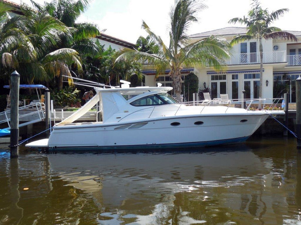 Used Tiara Open Sports Fishing Boat For Sale