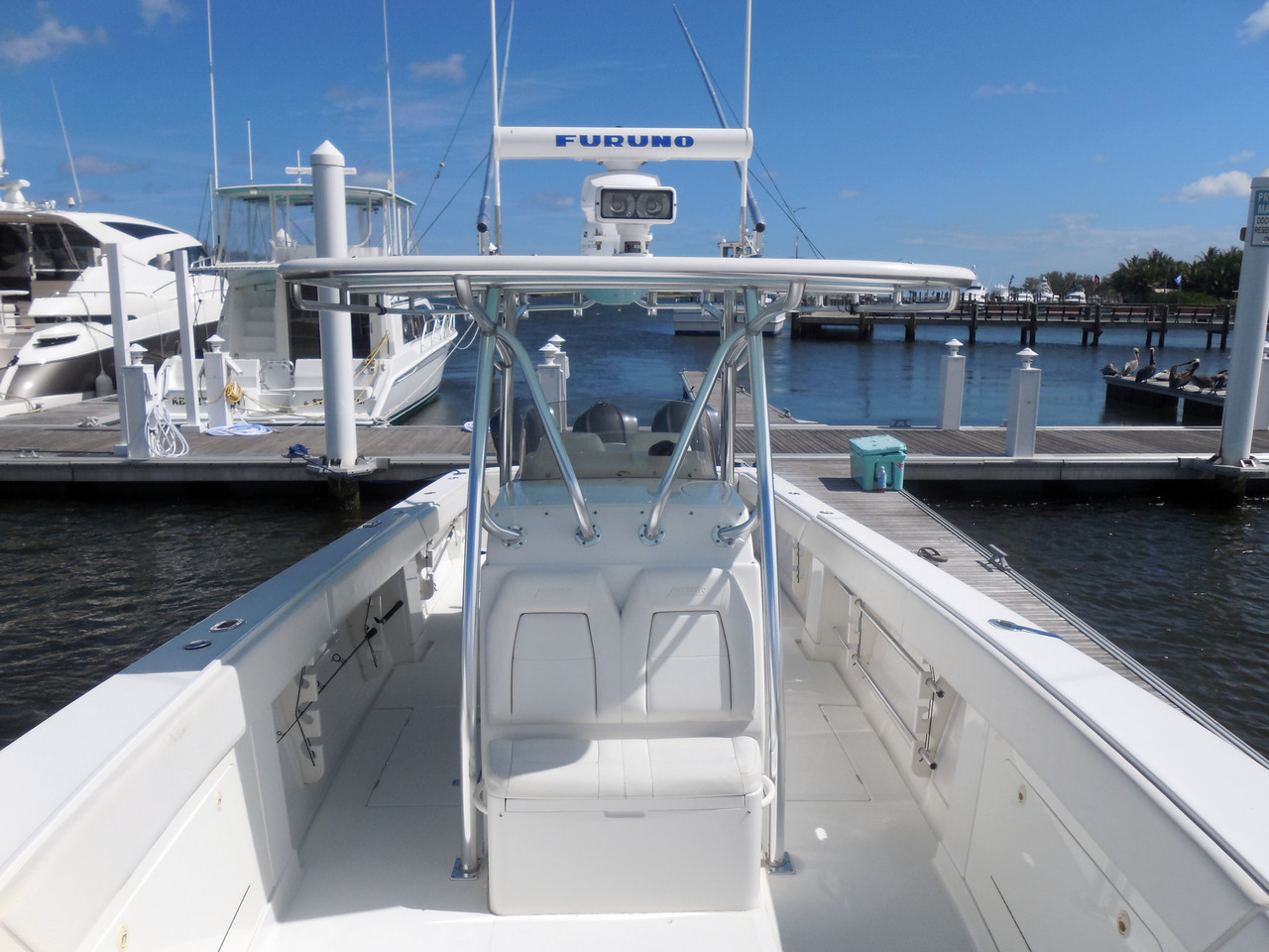2009 Used Jupiter Open Center Console Fishing Boat For