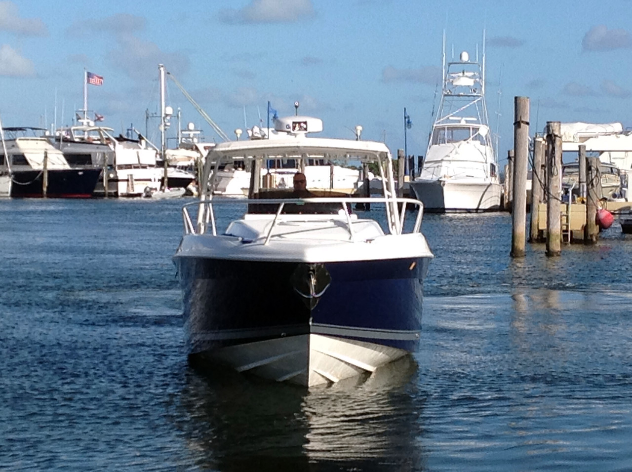 2003 used deep impact sports fishing boat for sale for Deep sea fishing boat for sale