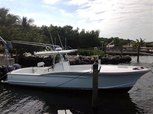 Used Gillikin Custom Center Console Sports Fishing Boat For Sale
