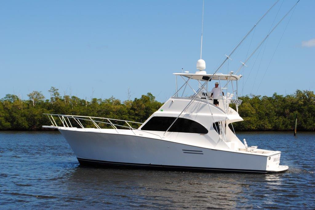 2001 used post sports fishing boat for sale 149 900 for Used sport fishing boats for sale