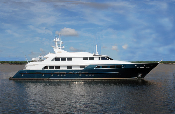 Used Swiftships Tri-Deck Motor Yacht For Sale