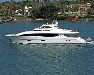 Used Lazzara Open Bridge Motor Yacht For Sale