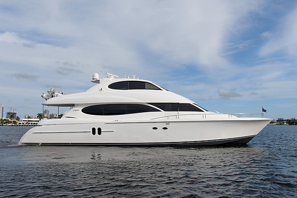 Used Lazzara Skylounge Motor Yacht For Sale