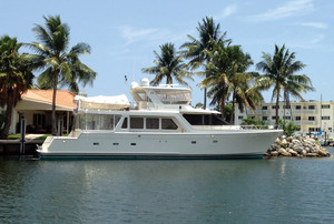 Used Offshore Cockpit Motor Yacht Pilothouse Boat For Sale
