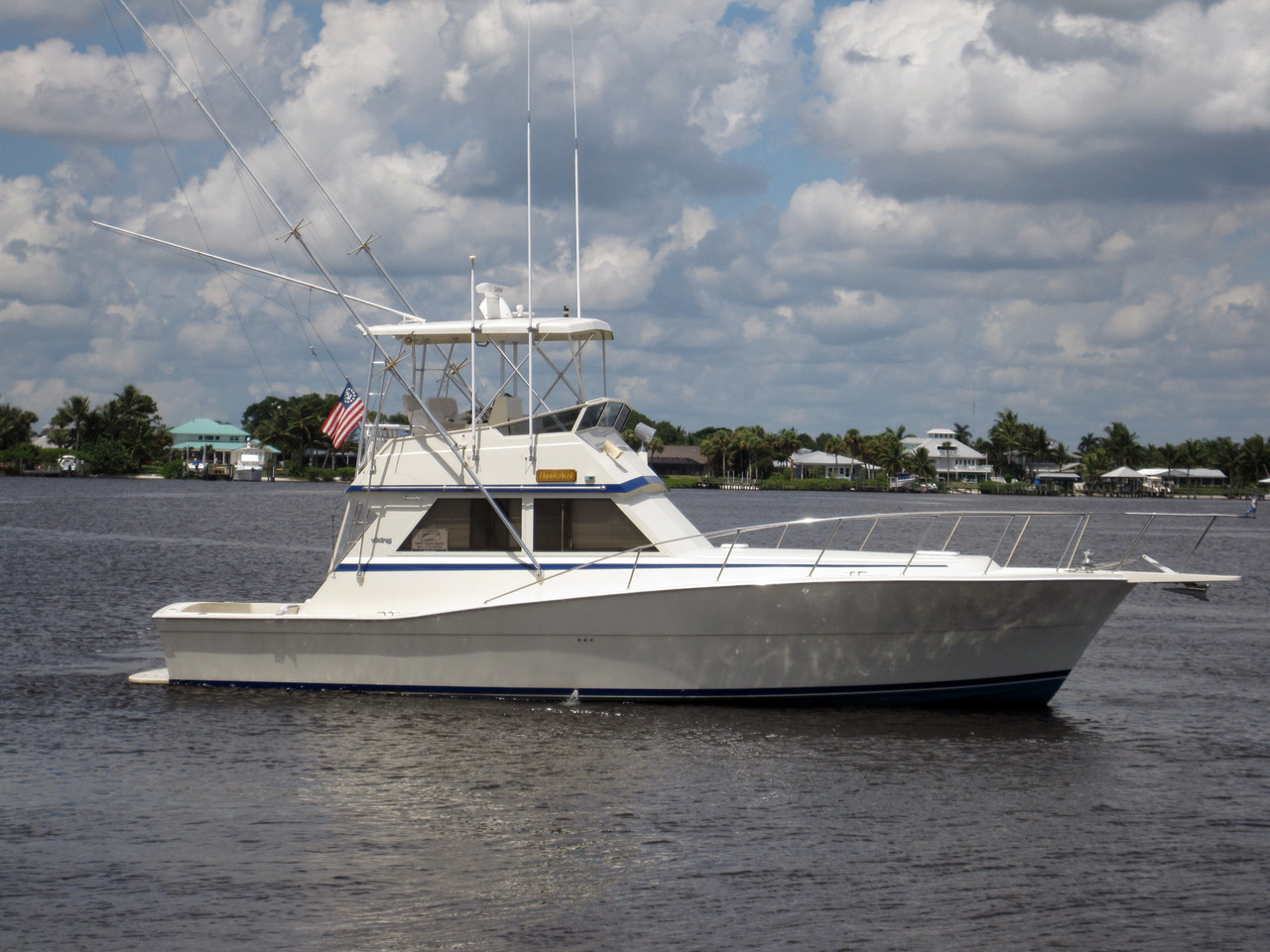 1986 used viking convertible fishing boat for sale for Viking fishing boat