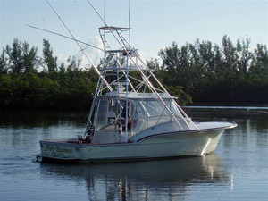 Used Jersey Cape Yachts Open Sports Fishing Boat For Sale