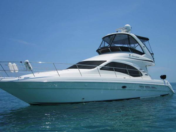 Used Sea Ray Sedan Bridge Express Cruiser Boat For Sale