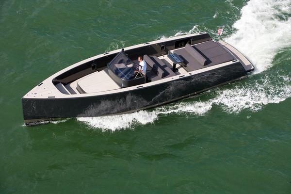 Used Vandutch Walkaround Fishing Boat For Sale